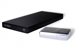 MB663UB-1SB-1 Ultra Slim Portable Enclosure with Built-in USB Cable