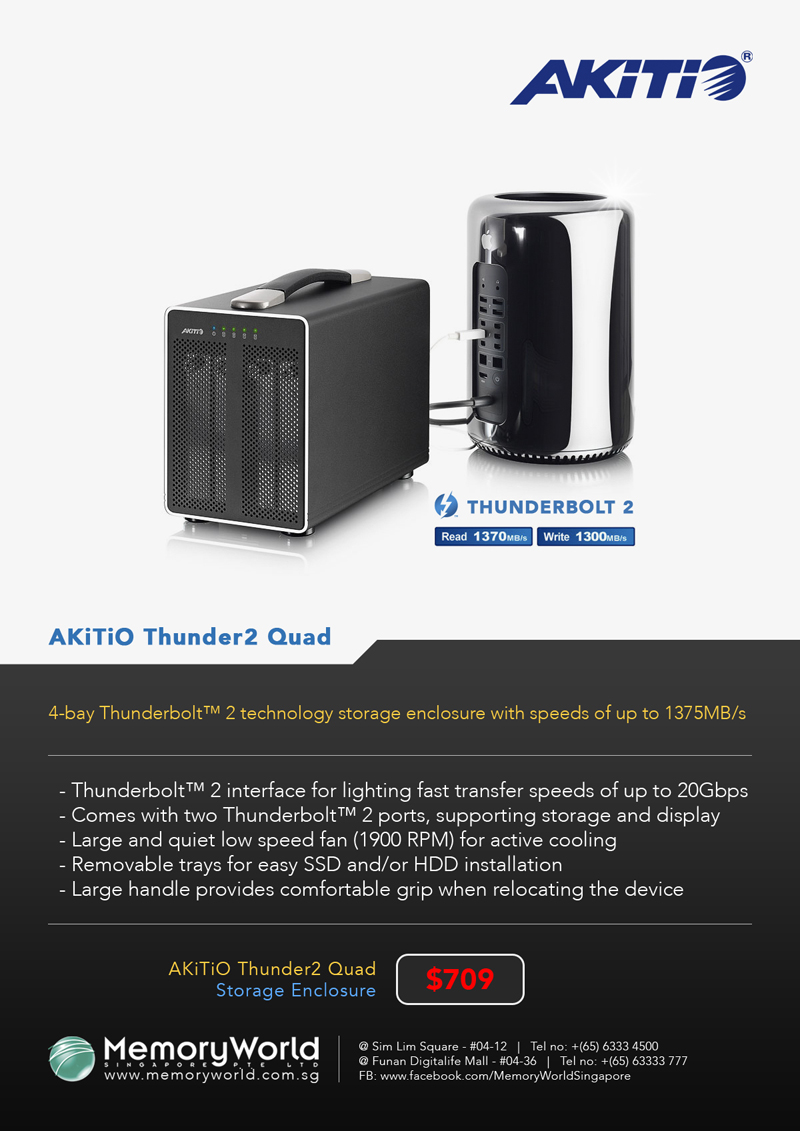AKiTiO Thunder2 Quad