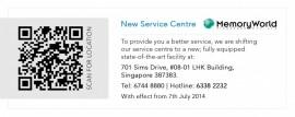 Service Centre New