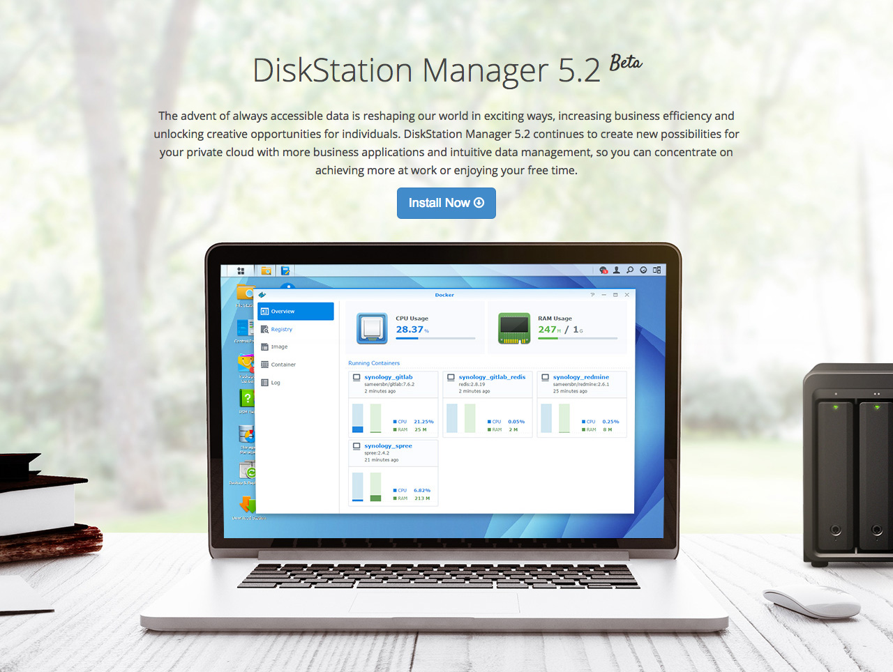 DSM 5.2 Beta