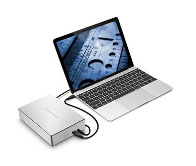 LaCie Porsche Design Desktop Drive - 4
