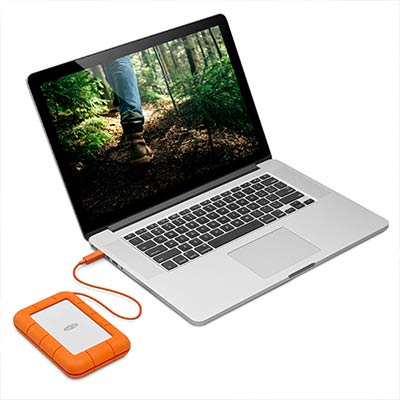 LaCie Rugged Thunderbolt USB - C - 3