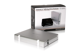 MB559U3S-1S Slim USB 3.0 & eSATA External HDD Enclosure