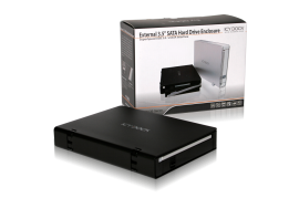 MB559U3S-1SB Slim USB 3.0 & eSATA External HDD Enclosure