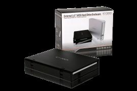 MB559U3S-1SB Slim USB 3.0 & eSATA External HDD Enclosure
